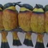 Niezwykle realistyczne ptaki z papieru Johana Scherfta