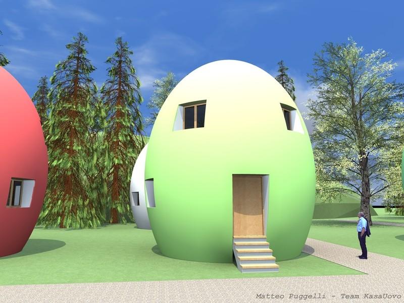 Pasywny dom z recyklingu