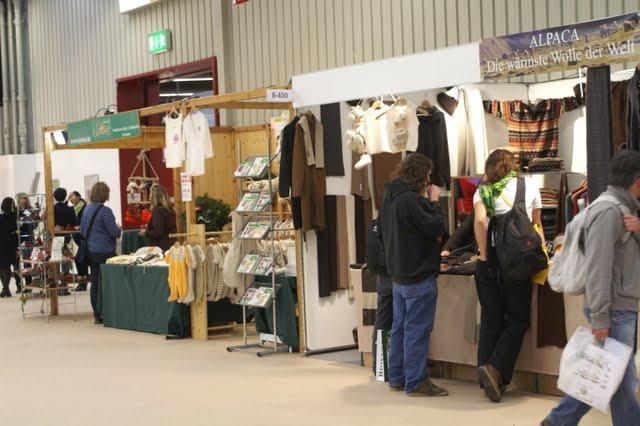 Targi ekologiczne BioFach - ubrania