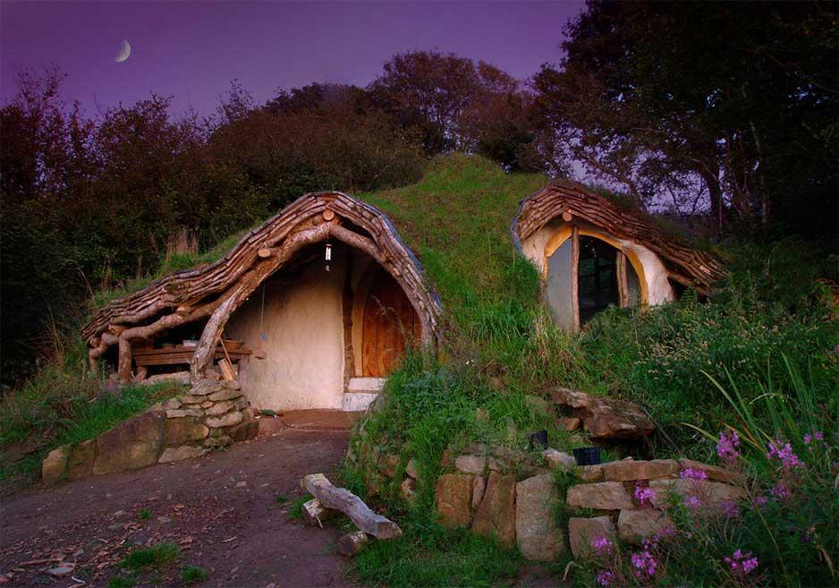 Tani, ekologiczny dom wybudowany własnymi siłami