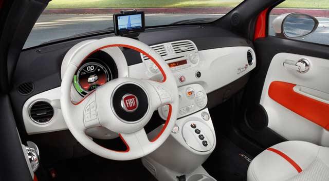Elektryczny Fiat 500e