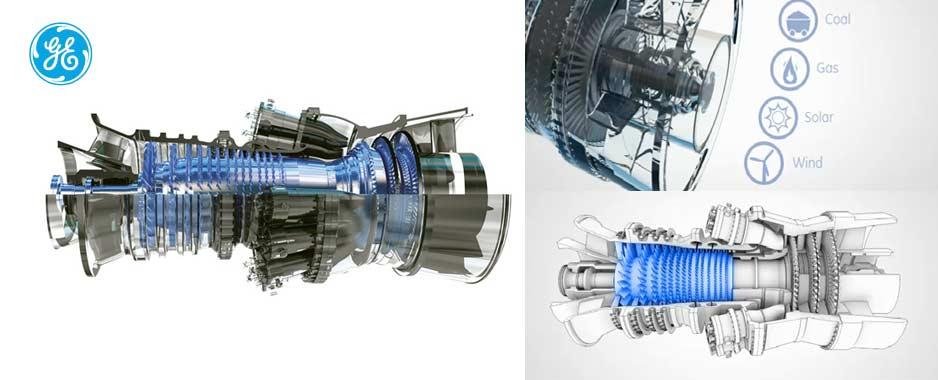 Turbina wykorzystywana w elektrowniach