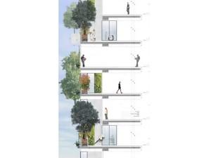 Bosco Verticale - zalesione budynki mieszkalne