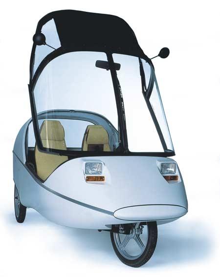 Elektryczny samochód na pedały - TWIKE