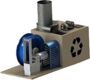 Filabot - domowy recykling dla drukarki 3D