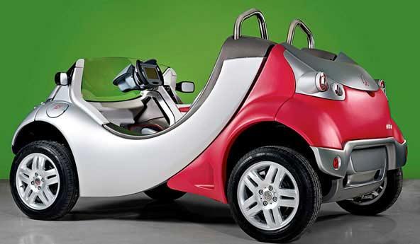 Hiriko - składany samochód elektryczny