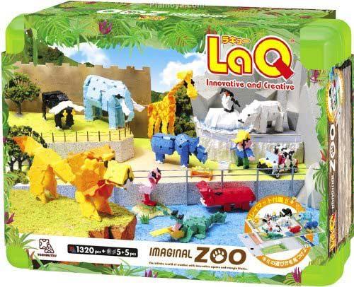 Klocki LaQ Zoo pudełko