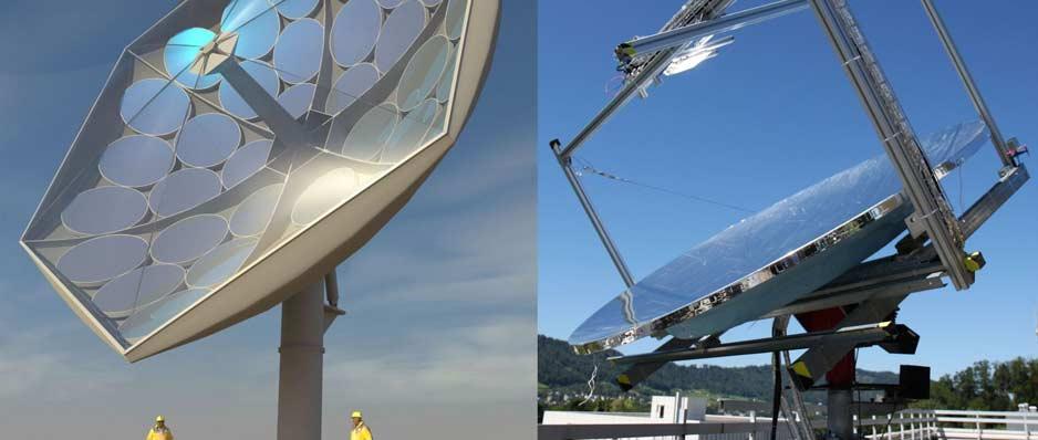 IBM kolektor słoneczny