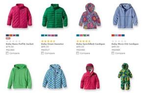 Odzież dla dzieci Patagonia