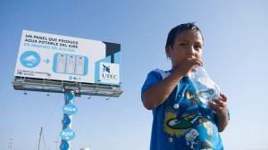 Billboard źródło wody pitnej