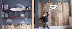 Pokój dziecka z palet