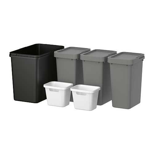 Rationel kosze szafkowe do segregacji śmieci