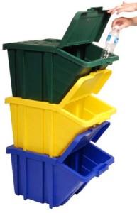 Kosze do segregacji Stackable Recycling Bins