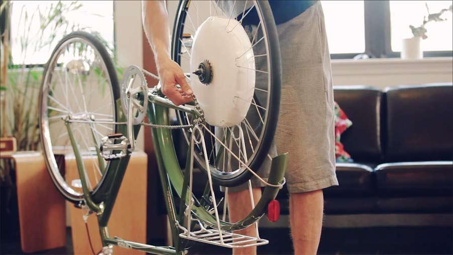 Elektryczny napęd do roweru FlyKly