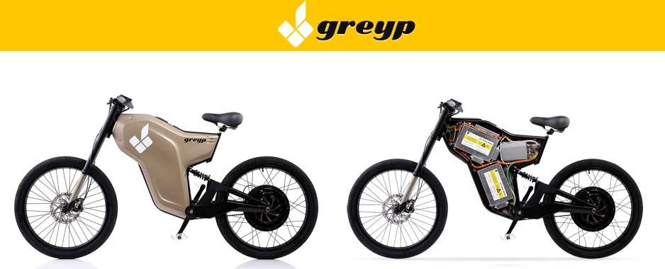 Elektryczny motorower Greyp