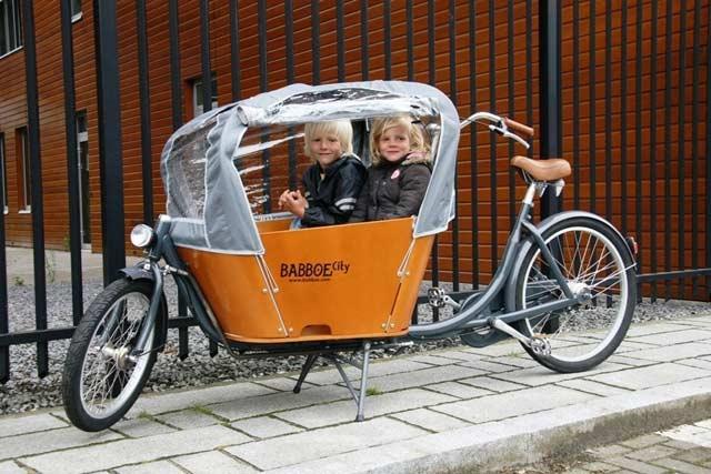 Rower do przewożenia dzieci
