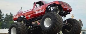 Monster truck duży samochód