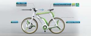 Rower oczyszczający powietrze