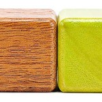 Drewniane klocki z magnesami Tegu