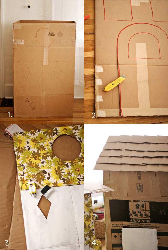 Domki z pudeł