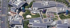 Panele słoneczne Google