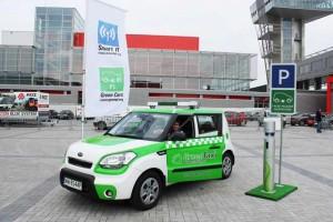 Elektryczna taksówka