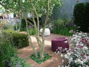 Miejski mały ogród