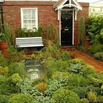 Ogródek przydomowy miejski