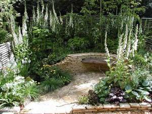Mały ogród miejski