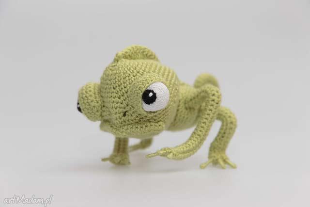 Kameleon zabawka ekologiczna