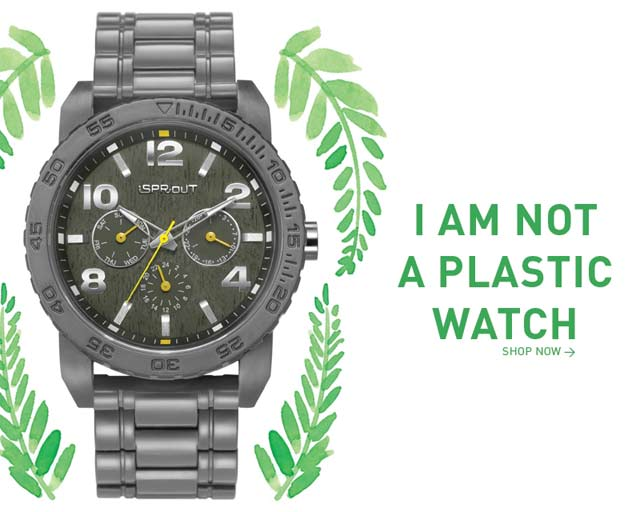 Zegarek biodegradowalny