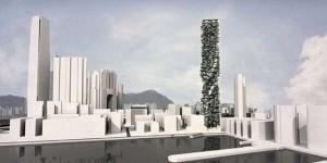 Wieżowiec z modułów Unit Fusion