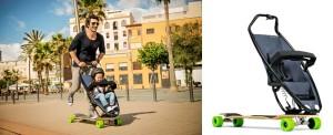 Wózek deskorolka longboard
