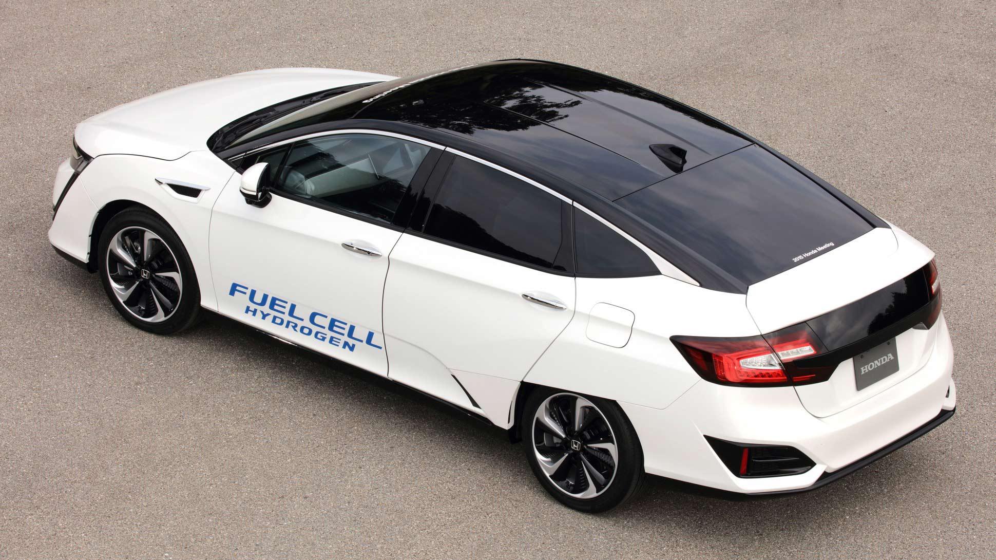 Samochód na wodór Honda Clarity