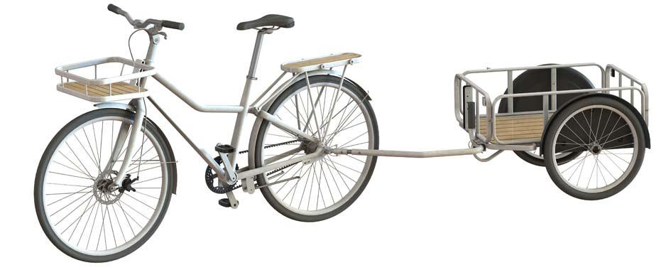 Rower z IKEA SLADDA